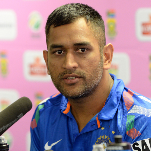 MS Dhoni will lead India in the 2015 ICC World cup.