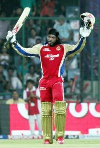 IPL-5 match between Delhi Daredevils and Royal Challengers Banglore