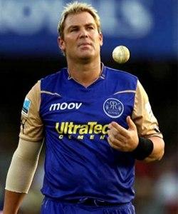 Former Rajasthan Royals' captain Shane Warne.