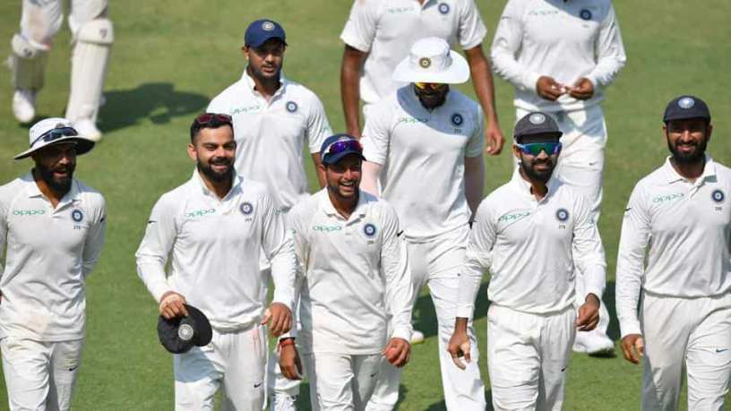 Team India in Tests